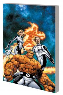 Fantastic Four Vol. 1: New Departure, New Arrivals (Trade Paperback)