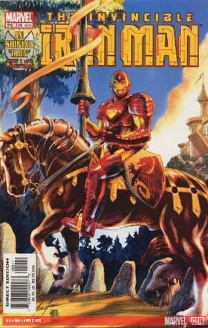 Iron Man (1998) #59 cover