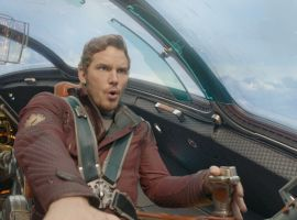 Chris Pratt stars as Star-Lord in Marvel's Guardians of the Galaxy