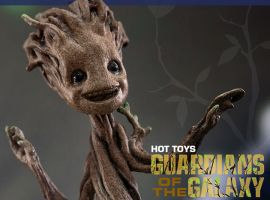 Guardians of the Galaxy: 1/4 scale Little Groot Collectible from Hot Toys