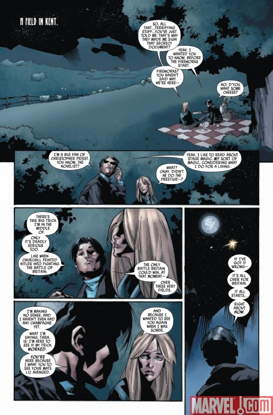 CAPTAIN BRITAIN AND MI13 #15, page 1