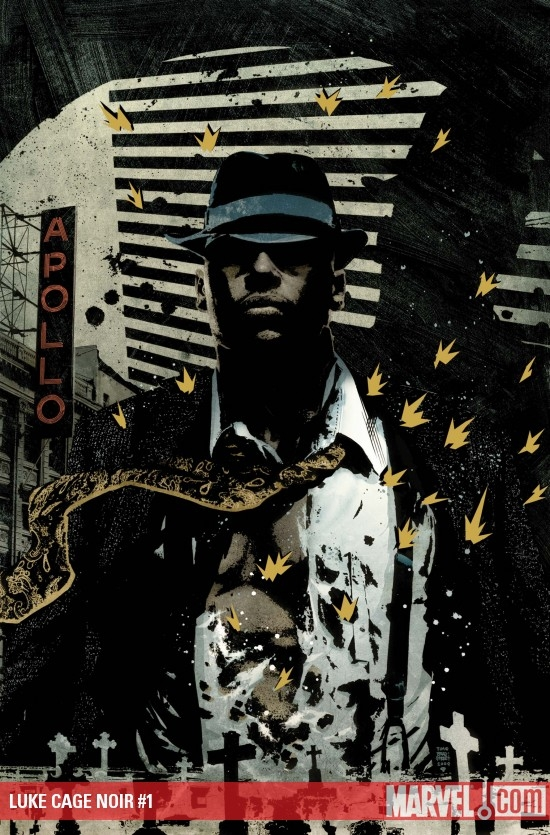 LUKE CAGE NOIR #1