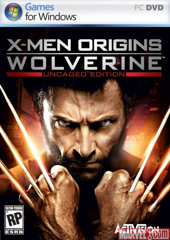 X-Men Origins: Wolverine Windows PC Box Art