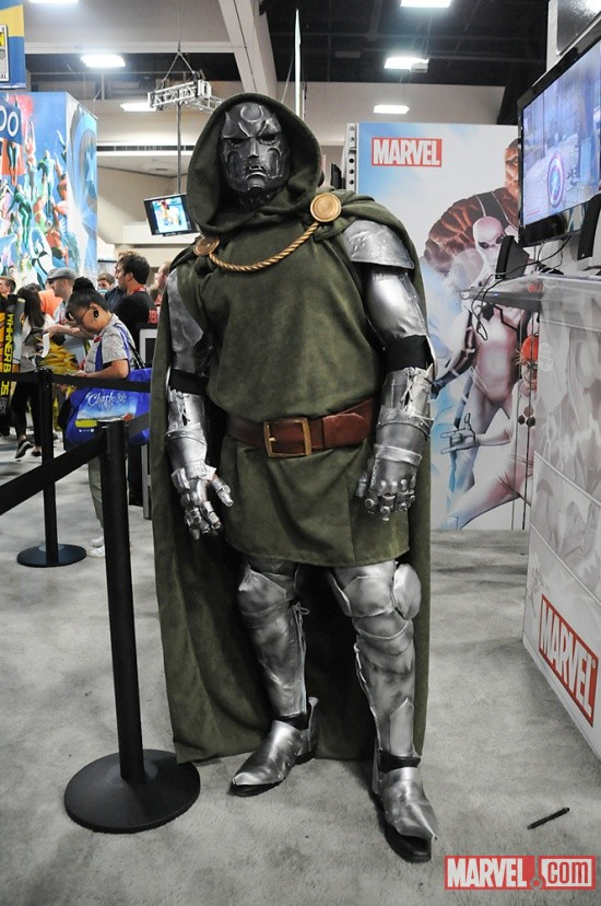 San Diego Comic-Con 2011: Doctor Doom Costumer