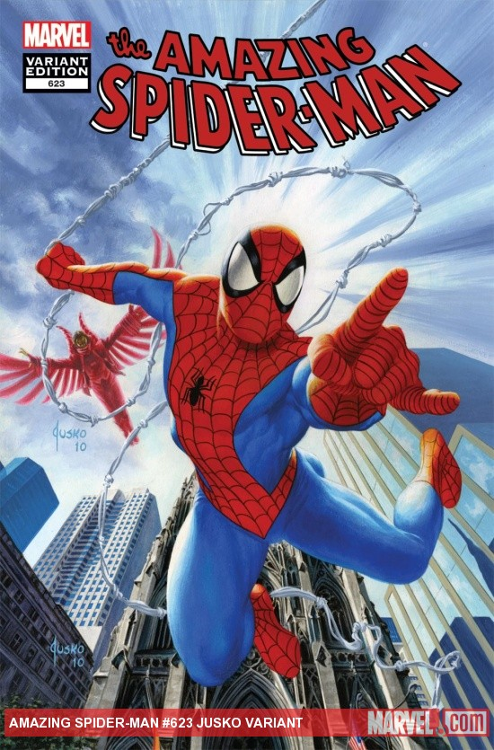 Amazing Spider-Man (1999) #623, Jusko Variant