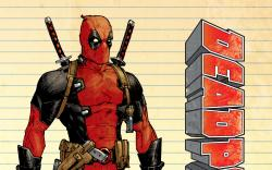 cover from Deadpool (2012) #1 (MOORE VARIANT)