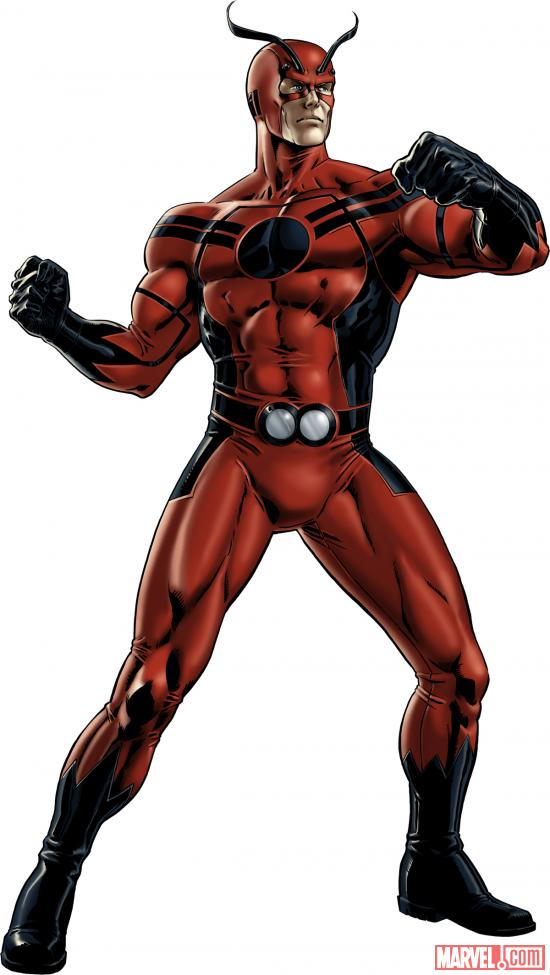Hank Pym character model from Marvel: Avengers Alliance