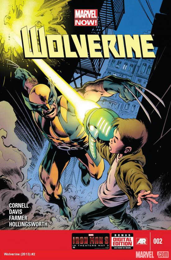 WOLVERINE 2 (NOW, WITH DIGITAL CODE)