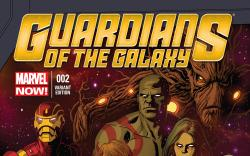 GUARDIANS OF THE GALAXY 2 RIVERA VARIANT (NOW, 1 FOR 50, WITH DIGITAL CODE)