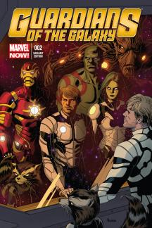 Guardians of the Galaxy (2013) #2 (Rivera Variant)