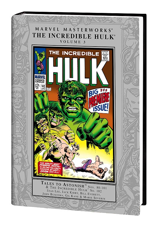 MARVEL MASTERWORKS: THE INCREDIBLE HULK VOL.3 COVER