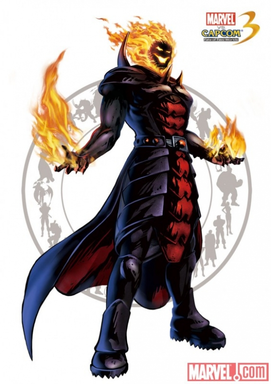 Dormammu Character Art from Marvel vs. Capcom 3