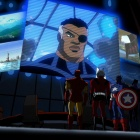 Nick Fury addresses the team in The Avengers: Earth's Mightiest Heroes!