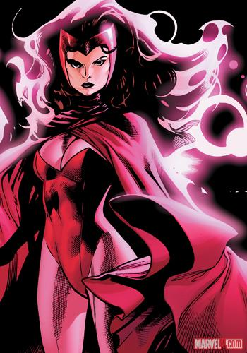 The Scarlet Witch by Olivier Coipel