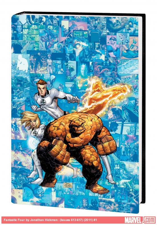 FANTASTIC FOUR BY JONATHAN HICKMAN VOL. 6 PREMIERE HC
