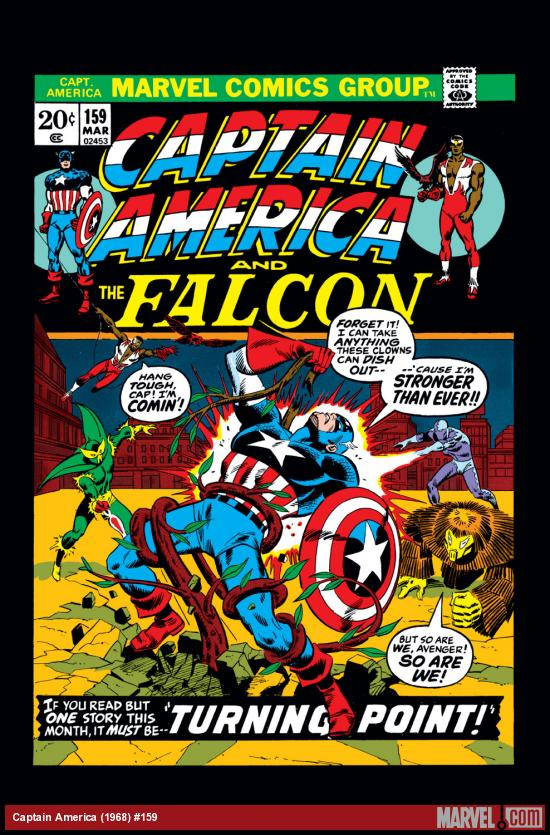 Captain America (1968) #159 Cover