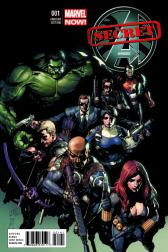 Secret Avengers #1  (Yu Variant)