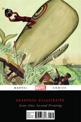 Deadpool: Classics Killustrated #1  (2nd Printing Variant)