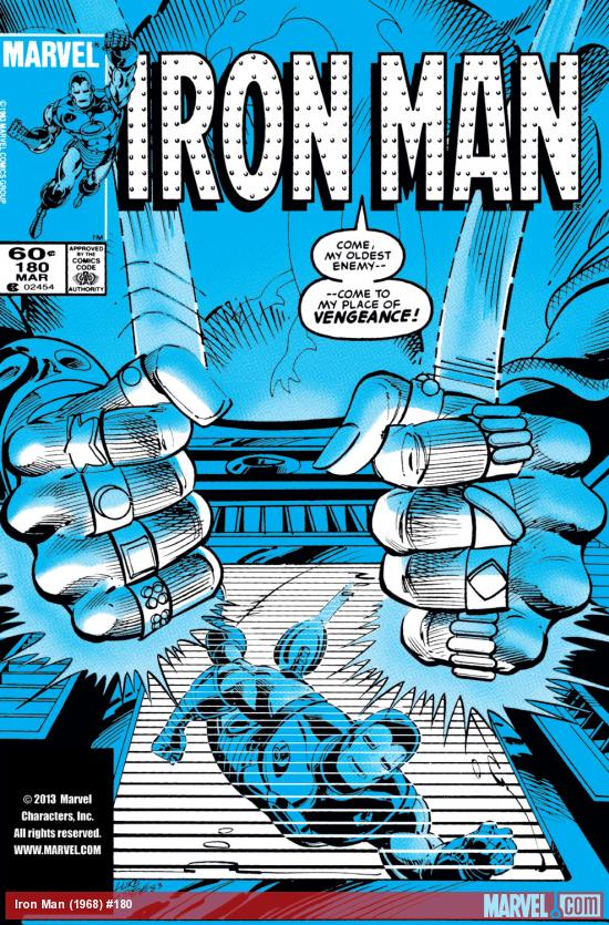 Iron Man (1968) #180 Cover