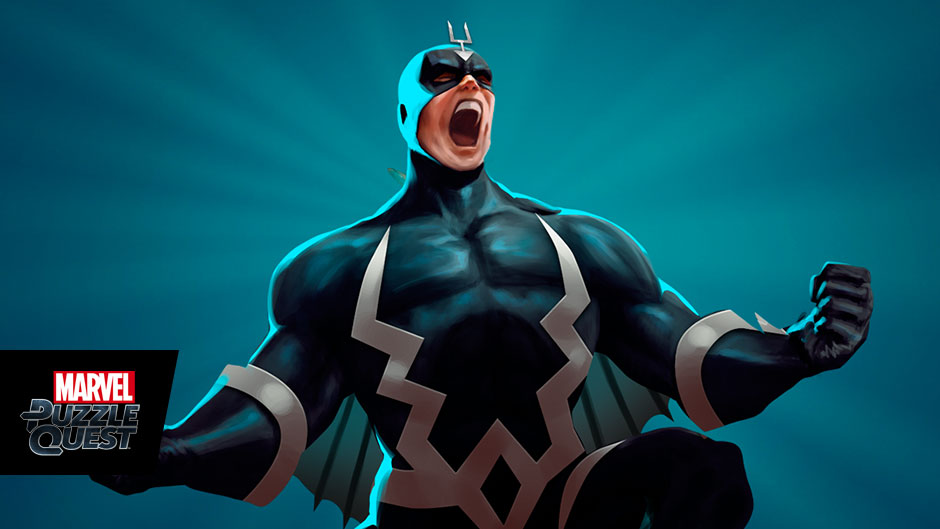 Black Bolt in Marvel Puzzle Quest