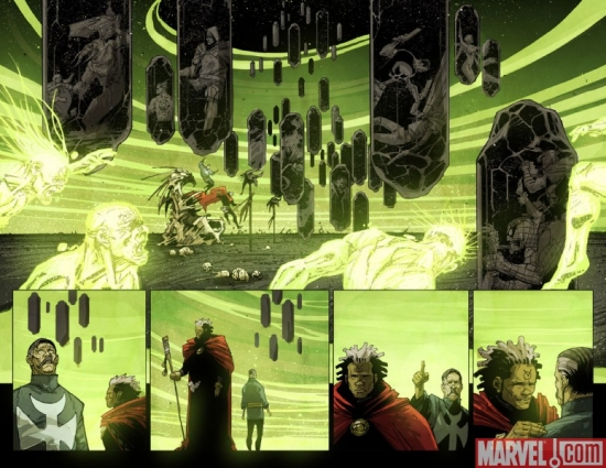 DOCTOR VOODOO: AVENGER OF THE SUPERNATURAL preview art by Jefte Palo