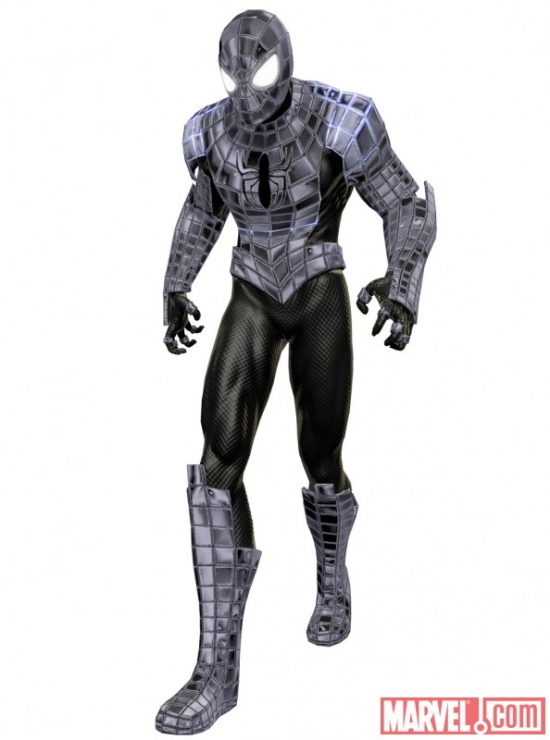 ''Spider-Man: Shattered Dimensions'' Spider-Armor costume