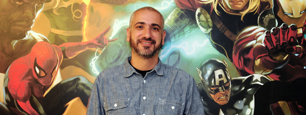 Marvel Promotes Axel Alonso to Editor-in-Chief