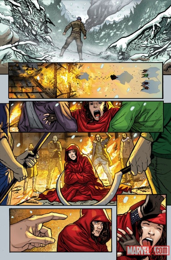 Avengers Origins: Scarlet Witch & Quicksilver #1 preview art by Mirco Pierfederici
