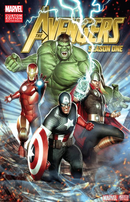 Avengers: Season One cover art by Adi Granov