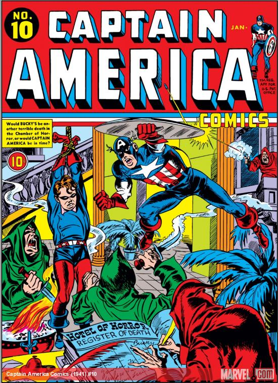 Captain America Comics (1941) #10 Cover