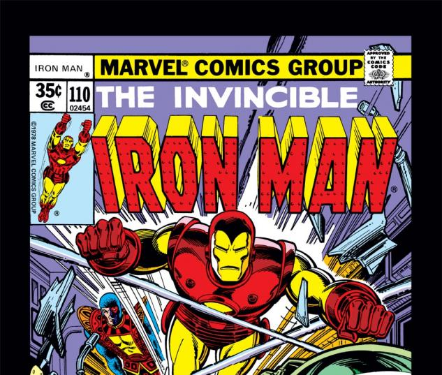 Iron Man (1968) #110 Cover