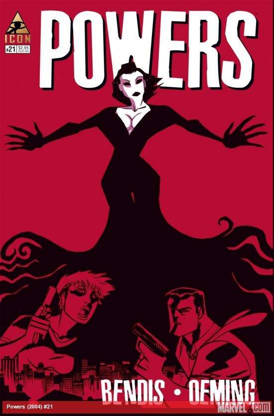 Powers (2004) #21 Cover