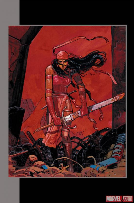Elektra by Moebius