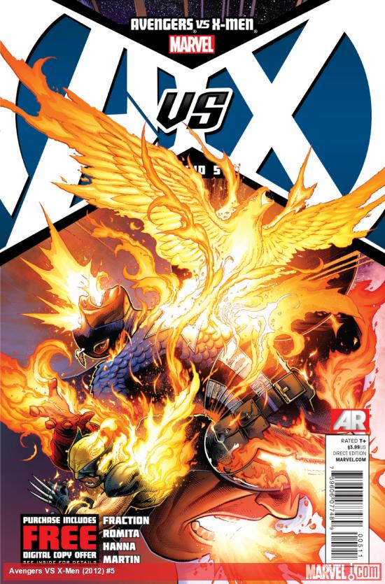 Cover: Avengers VS. X-Men Issue #5