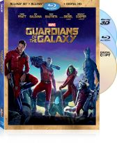 Guardians of the Galaxy on 3D Blu-ray