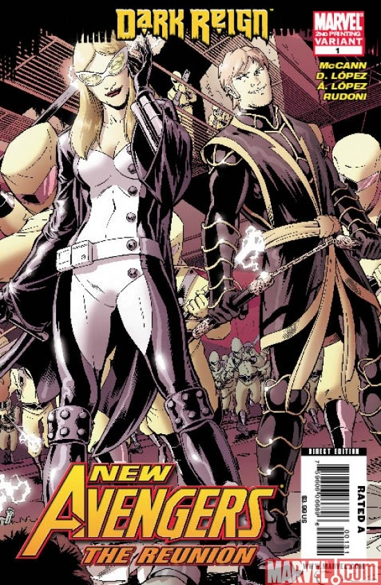 NEW AVENGERS: THE REUNION #1 Second Printing Variant