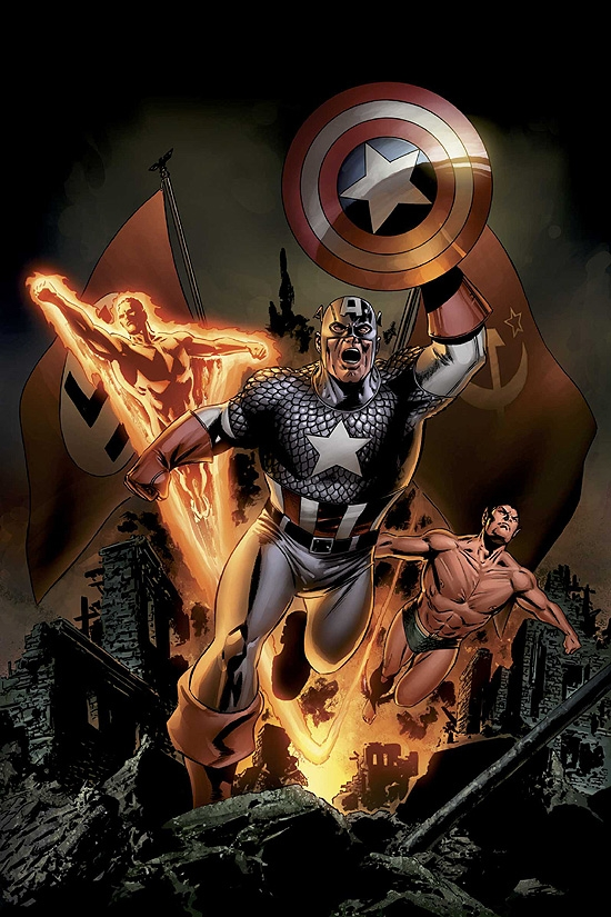 CAPTAIN AMERICA (2007) #5 COVER