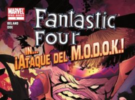 FANTASTIC FOUR IN... ATAQUE DEL M.O.D.O.K.! #1 cover by Juan Doe