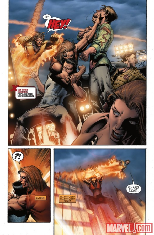UNCANNY X-MEN #529 preview page by Whilce Portacio