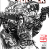 Winter Solider #1 - Sketch Variant 