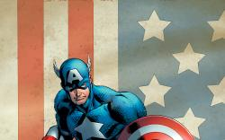 Captain America & Bucky #620 variant cover by Mark Bagley