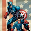 Captain America &amp; Bucky #620 variant cover by Mark Bagley