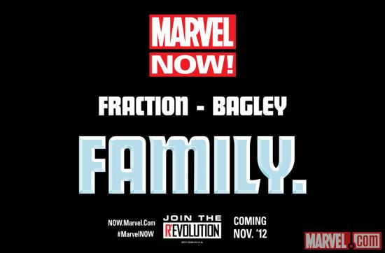 The Future of Marvel NOW! is Family