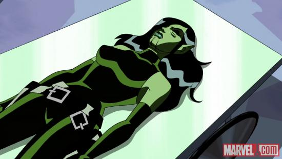 Viper is revealed as a Skrull in The Avengers: Earth's Mightiest Heroes!