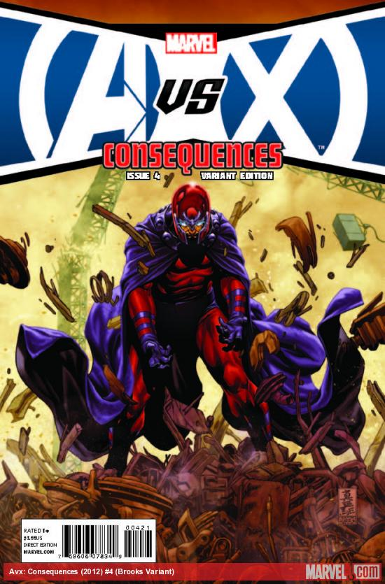 AVX: CONSEQUENCES 4 BROOKS VARIANT (WITH DIGITAL CODE)
