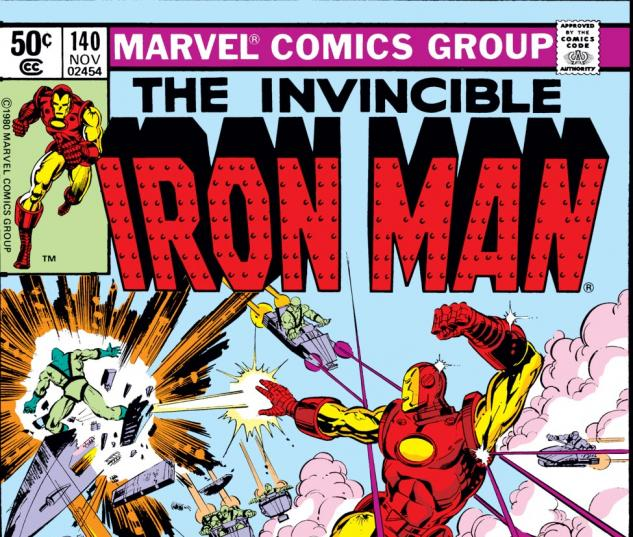 Iron Man (1968) #140 Cover