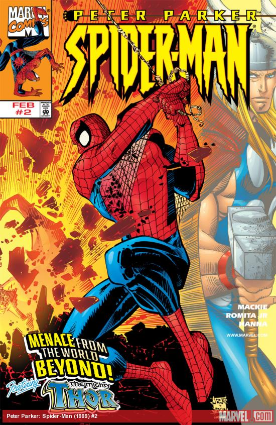 Peter Parker: Spider-Man (1999) #2 Cover