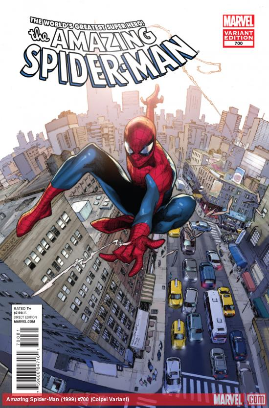 cover from The Amazing Spider-Man (1999) #700 (COIPEL VARIANT)