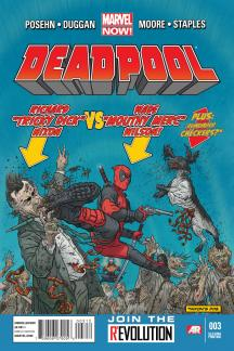 Deadpool (2012) #3 (2nd Printing Variant)