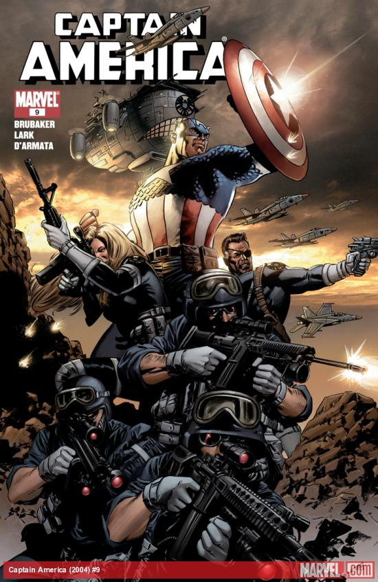 Cover: Captain America (2004) #2 of 6 - Winter Soldier